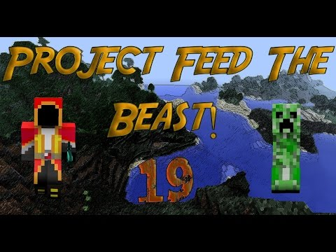Project Feed the Beast #19 Stick Resin!