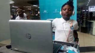 DJ Zeeny, Youngest Female DJ In Nigeria Performed Live For HP