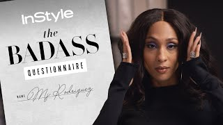 Mj Rodriguez Teaches Us How To Serve Face Like A True Icon   Badass Questionnaire
