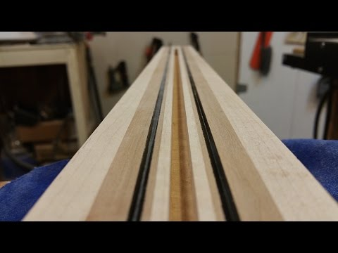 Building a Six String Bass / Adding Carbon Fiber to the Neck