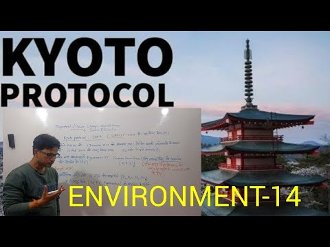 Kyoto protocol: Environment chapter-14