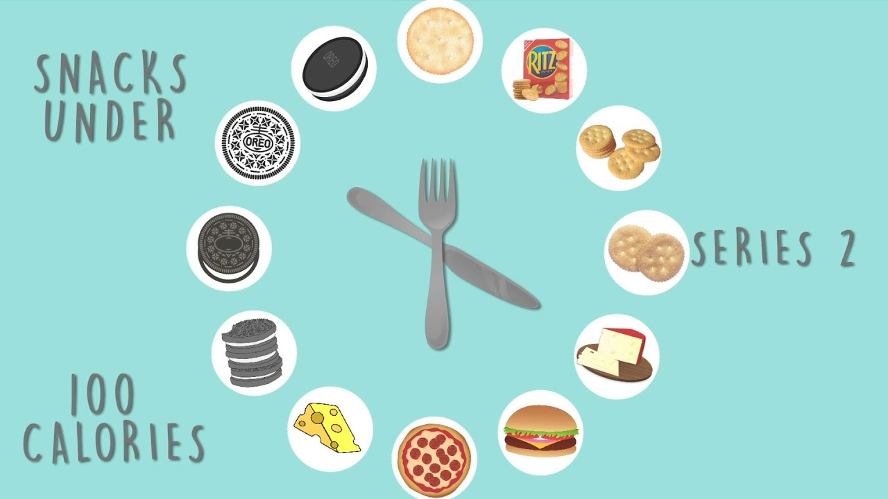 snacks under 100 calories (2): ritz crackers, oreo & mozzarella
