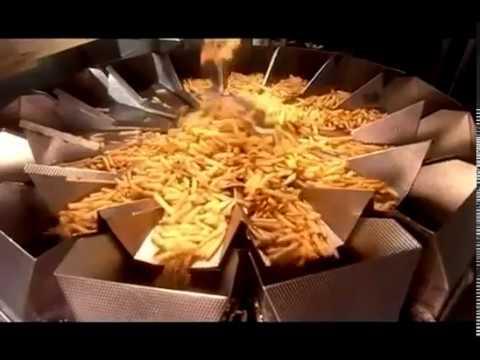 Как приготовить картофель фри замороженный