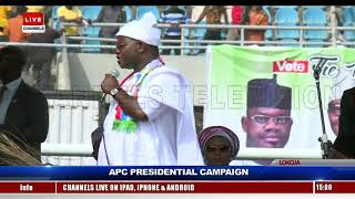 Protect Your Votes, Gov Bello Tells Kogi Residents At Buhari's Rally