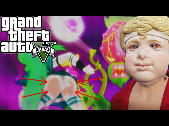 TENTACLE ANIME IN GTA? HEISTS GONE WRONG  - Grand Theft Auto: V Funny Moments