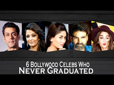 Top 6 Bollywood Celebs Who Never Graduated - HD 2018