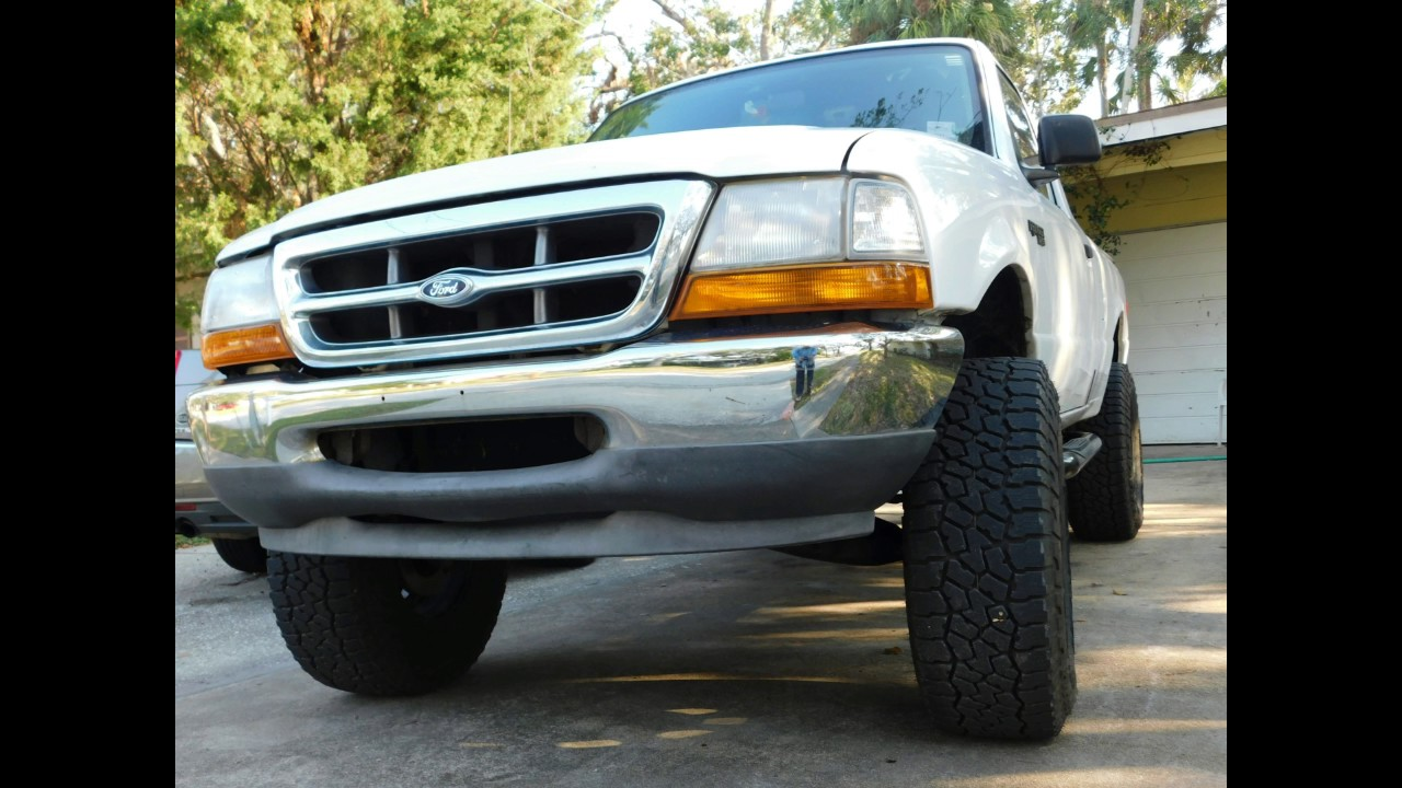 2WD 2000 FORD RANGER 6IN SUSPENSION LIFT WITH SHORT ADD A ...