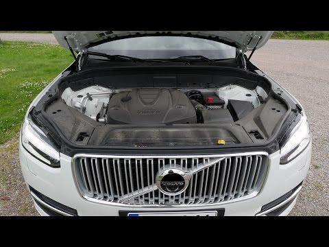 Koeajossa uusi Volvo XC90 2015