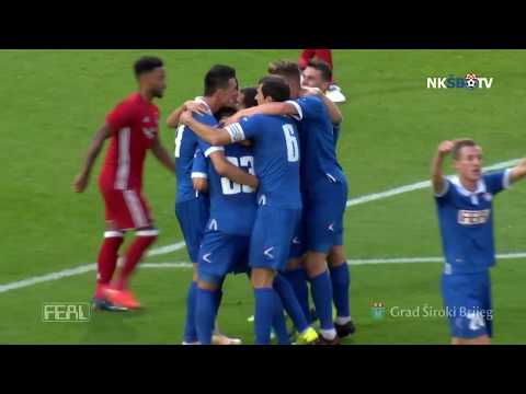 EUL (2. pretkolo, 1. utakmica): ABERDEEN - ŠIROKI BRIJEG 1:1