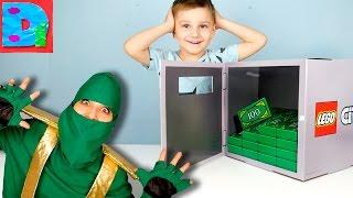 Нашли Лего Сити Сейф НИНДЗЯГО раскрывает тайну его местонахождения ВО СНЕ