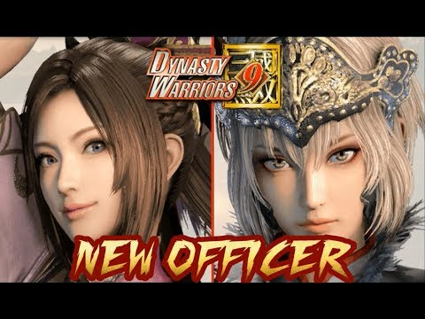 DYNASTY WARRIORS 9 ALL 58 New Officer & New Design Character