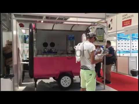 2 2m food cart/food truck, Poland Warsaw Exhibition