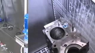 Lavadora de piezas de automovil - Limpieza de piezas de automoción