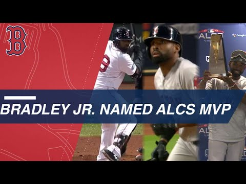Bradley Jr. is named ALCS MVP after stellar series
