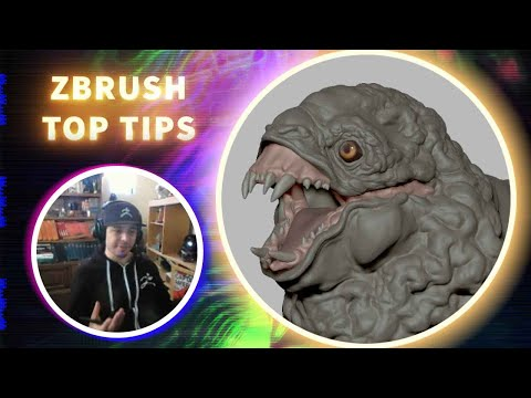 The Power of ZBrush Layers for Detail Sculpting - ZBrush Top Tips - Oscar Trejo