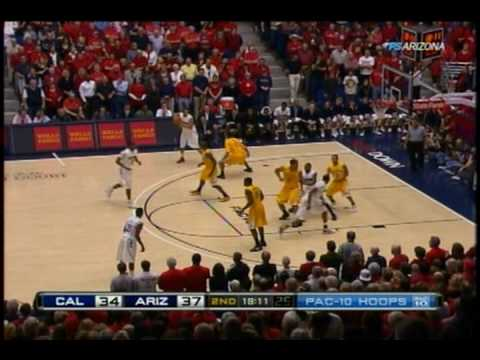2009/2010 Arizona Basketball vs Cal