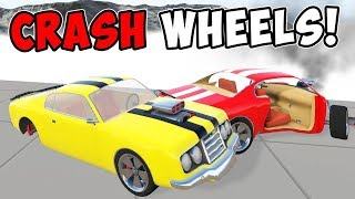 Crash Wheels-крутые краш тесты #2