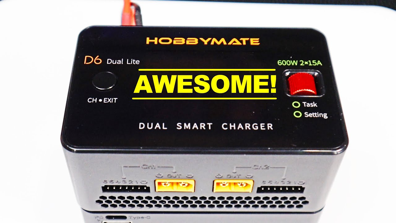 D6 Dual Lite - A Quality Dual Battery Charger at an Affordable Price - Review