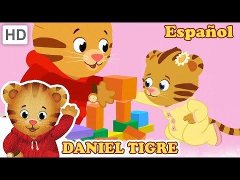 Daniel Tigre en Español 🍼 Canciones con mi Hermana | Videos para Niños