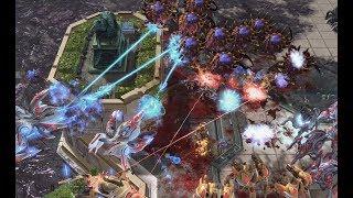 Into the Void - Ivan (P) v Firefly (Z) on Acropolis - StarCraft 2 - LOTV 2019