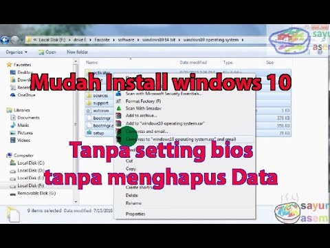 install-windows-10-tanpa-setting-bios-tanpa-menghapus-data