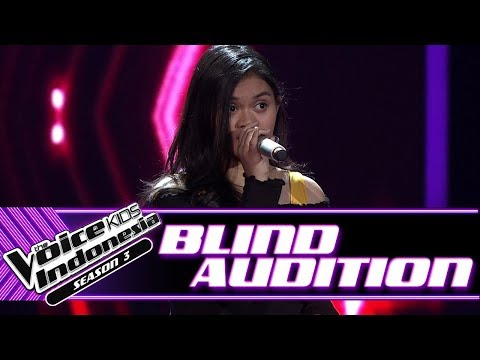 Shandy - Kekasih Bayangan | Blind Auditions | The Voice Kids Indonesia Season 3 GTV 2018