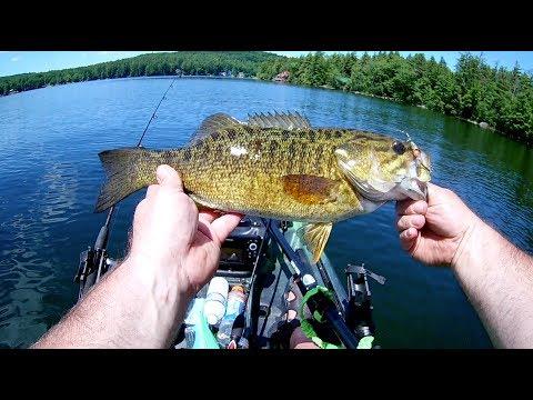 New Hampshire Smallmouth Fishing At Lake Waukewan