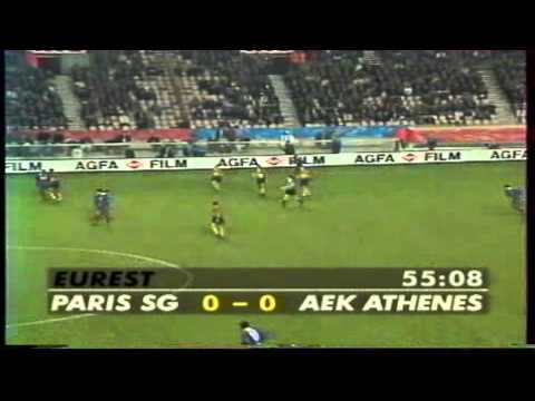 Paris Saint Germain - AEK  0-0 1996-97