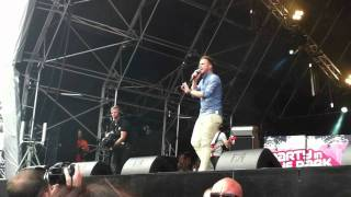 Olly Murs - Thinking Of Me @ Party in the Park, Leeds (2011) HD