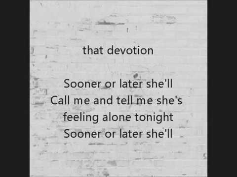 Aaron Cater Sooner Or later  Lyrics