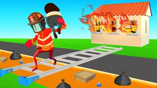 FIREFIGHTER SIMULATOR But It's The Most DANGEROUS LEVEL! (Embr)