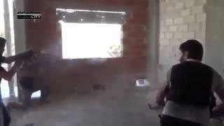 Сирия Война 2013 Комнатный бой, видео боевиков АРХИВ