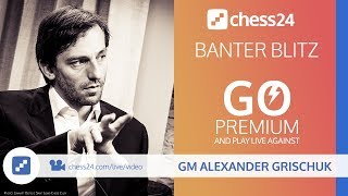Banter Blitz with GM Alexander Grischuk - November 18, 2018 thumbnail