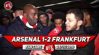 Arsenal 1-2 Frankfurt | Taking Of Martinelli & Playing Ozil Out Position Made No Sense!
