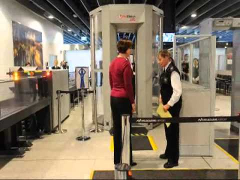 Body Scanner at Melbourne Airport