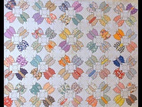 Butterfly Quilt Block Patterns - YouTube : butterfly quilt blocks - Adamdwight.com