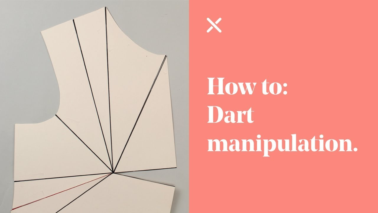 how to add darts to a pattern
