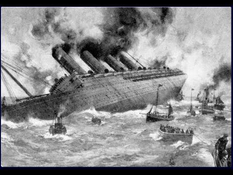 La grande guerre 1914-1918 (4) : Le drame du Lusitania : Jutland - Documentaire Histoire