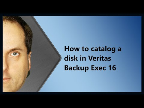 How To Catalog A Disk In Veritas Backup Exec 16