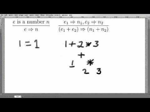 DPL Week 2 - 03b Operational Semantics Example - YouTube