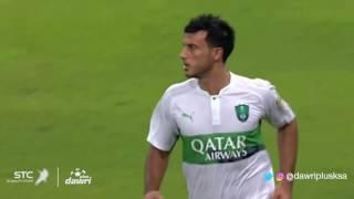 هدف الأهلي الثاني ضد القادسية في دور الـ5 من دوري جميل