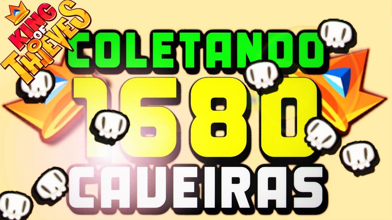 Download king of thieves coletando 1680 caveiras !!!