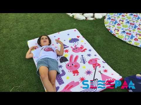 Mantas de suelo alfombra para gatear Regalo bebe SleepAA