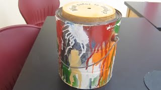 What color is inside the can?  /// Homemade Science with Bruce Yeany