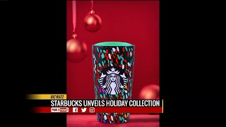 Starbucks debut new holiday cups