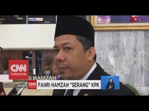 Fahri Hamzah 'Serang' KPK soal Operasi Tangkap Tangan