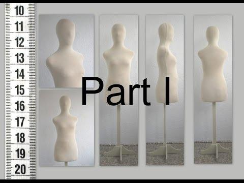 DIY Как сделать манекен. Часть I. How To Make Tailor's Dummy. Part I.