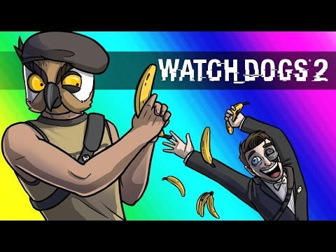 Thumbnail: Watch Dogs 2 Funny Moments - Banana Cleaners!