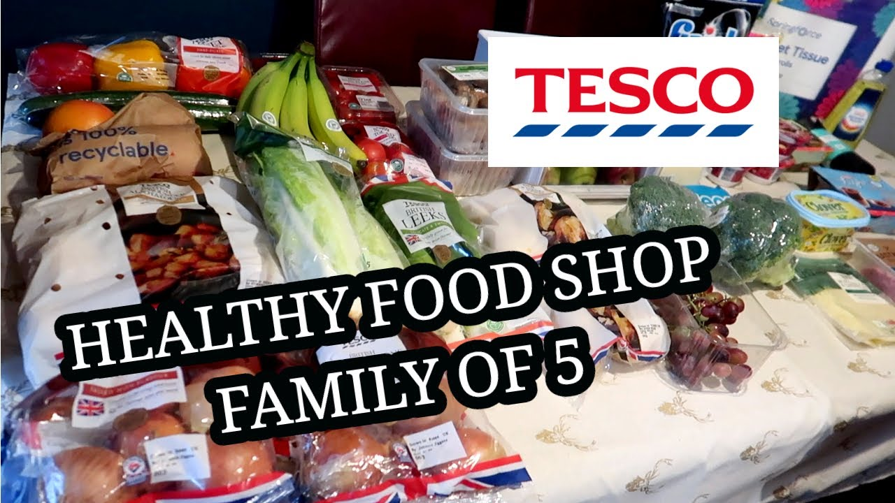 <div>TESCO GROCERY HAUL & HEALTHY MEAL PLAN 💙</div>