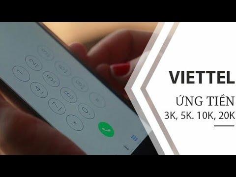 Cách ứng Tiền Sim Viettel được 5k - 500k Miễn Phí